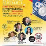 Invitation to Start-up Strategies Seminar on 12 May 2018 by Faculty of Design and Environment, THEi